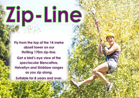 Keswick Climbing Wall: Zip-line -