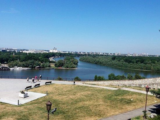 Danube River : Junção do Danubio com o Sava