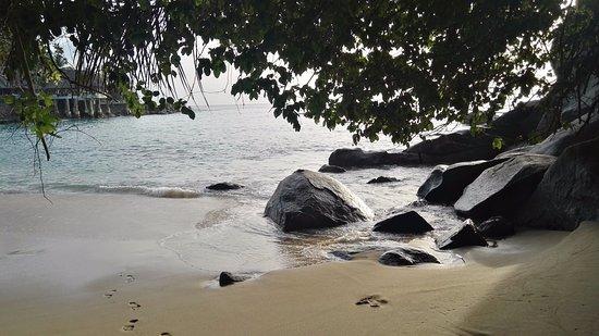 Isla Mahé, Seychelles: plage sunset beach
