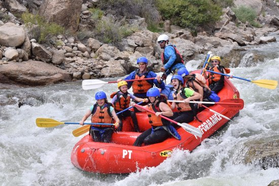 Buena Vista, CO: Browns canyon whitewater