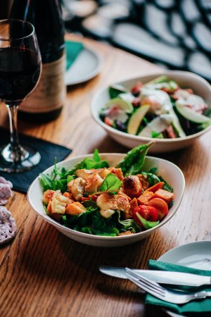The Butterfly And The Pig : Salads for every taste