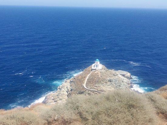 Kastro, Greece: εφταμάρτυρες - θέα από το κάστρο