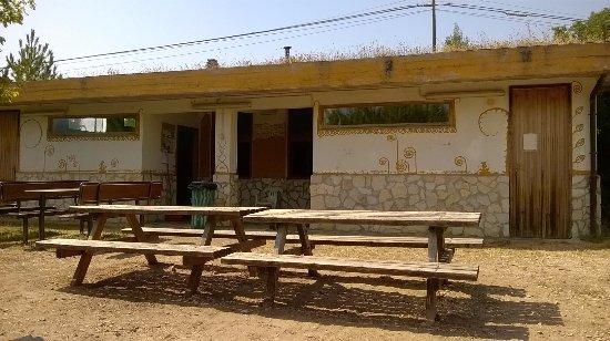Campo Di Giove, Italy: sala comune-cucina-svago