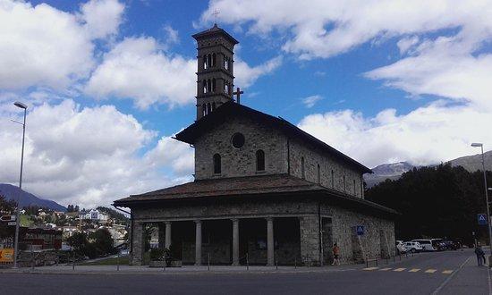 Kirche San Karl St. Moritz-Bad: Facciata delal Chiesa ...