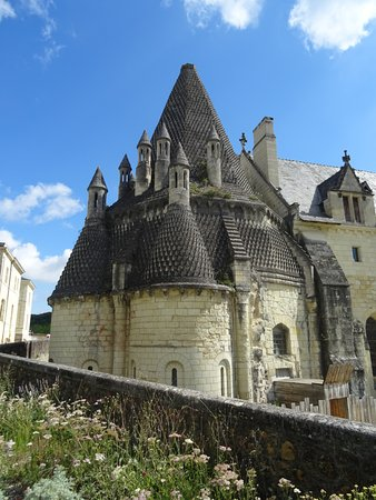 Fontevraud-l'Abbaye, France: Exterior view