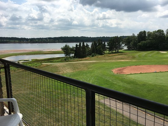Georgetown, Canada: view from our balcony