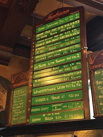 In de Wildeman: Draft Beers