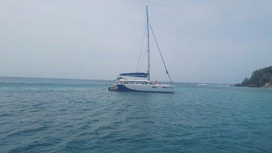 Victoria, Seychellerna: bateau concurent