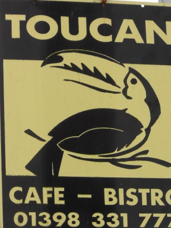 Bampton, UK: Toucan Cafe and Bistro.