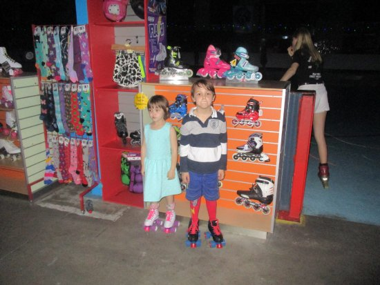 Tweed Heads, Australia: never seen the kids happier when they got their own skates + socks, my daughter sleeps with hers