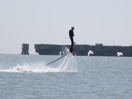 Le Verdon Sur Mer, Francia: J'arrive même à avancer.
