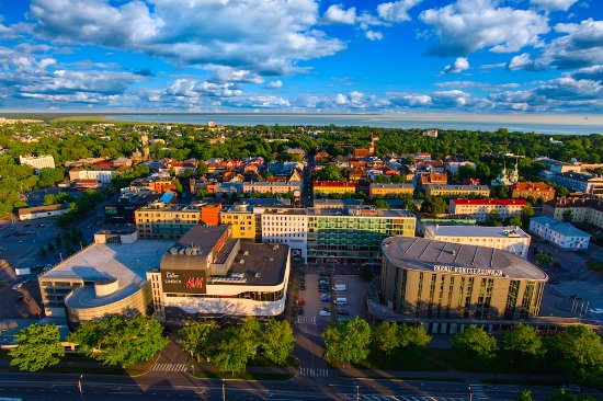 9c698465d1c Pärnu Centre from the air - Picture of Parnu Keskus, Parnu - TripAdvisor