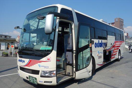 小田急箱根高速バス・前面 - 新...