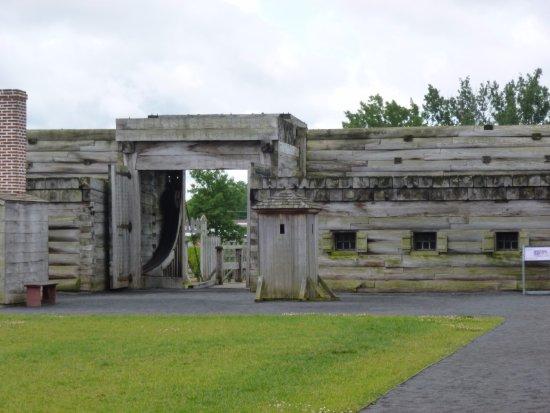 โรม, นิวยอร์ก: l'entrée du fort