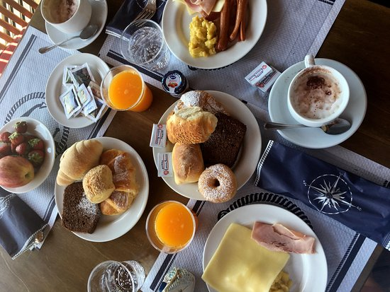 Santa Tecla, Włochy: Breakfast.