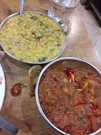 Taste of Lahore: Dhal and chicken masala