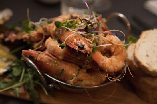 Berntis Restaurant & Grill: Prawns!