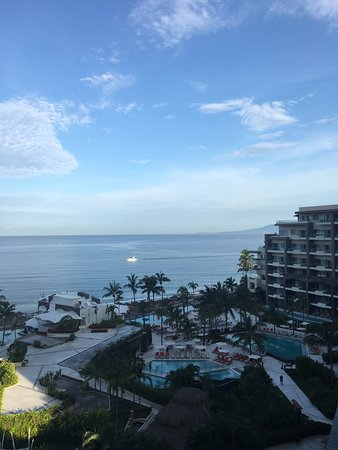 Secrets Vallarta Bay Puerto Vallarta: Very early morning picture from our deck!