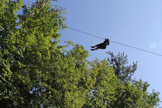 Nisswa, MN: We had a blast zipping with Brainerd Zipline Tour!