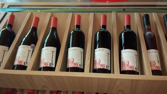 Beamsville, Canadá: Redstone wine selection