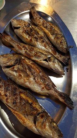 Zrnovo, Kroatië: Grilled Fish