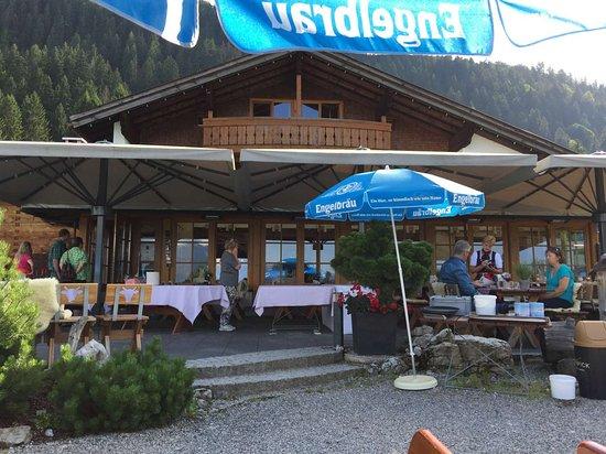 Terrasse Detail Bild Von Alpe Dornach Oberstdorf Tripadvisor