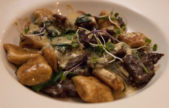 Thredbo Village, Australia: Our Beef Cheek Gnocchi in Zack's Grill Got To Love Some Carbs And Protein!