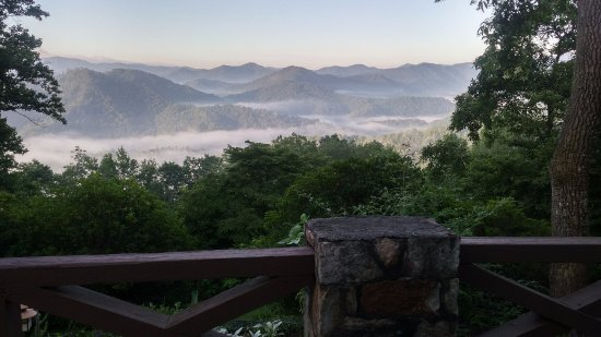 Robbinsville, NC: View for the patio