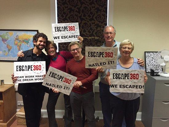 Old Windsor, UK: Escaped