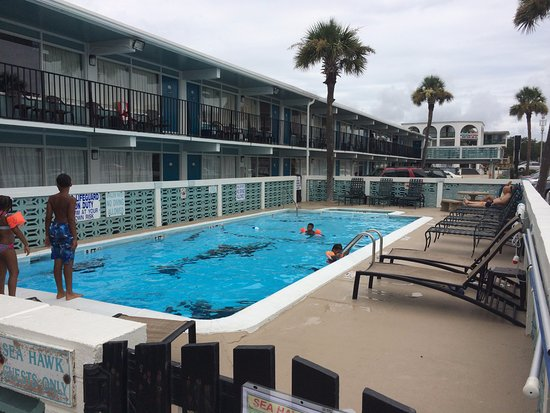 Sea Hawk Motel Myrtle Beach The Pool Was Great