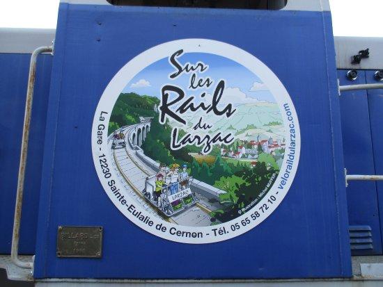 Sainte-Eulalie-de-Cernon, France : Velorail du Larzac