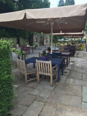 Ilkley, UK: Private garden