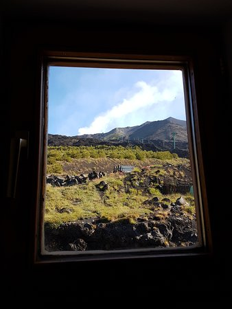 Nicolosi, Ιταλία: Vista del Etna desde la habitación nº 13
