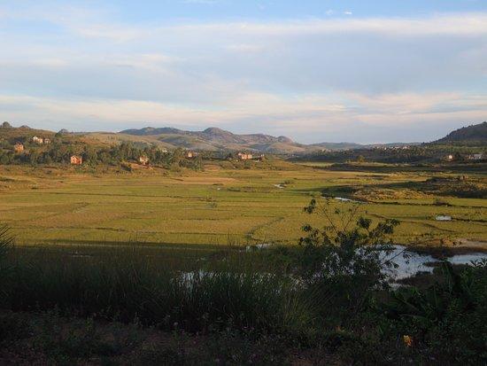 Амбоситра, Мадагаскар: Vue depuis l'écolodge