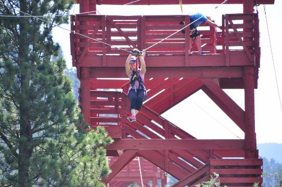 Idaho Springs, CO: Zipping