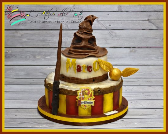 harry potter cake picture of l 39 atelier delle torte. Black Bedroom Furniture Sets. Home Design Ideas
