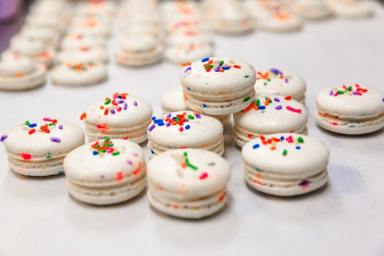 Savor Patisserie Birthday Cake Macarons Arent Just For Birthdays Come Get One