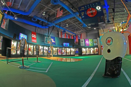 Mississippi Sports Hall of Fame: The Museum is open Monday-Saturday, 10am - 4pm.