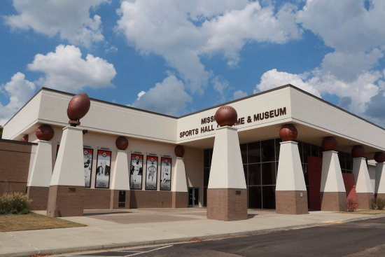 The Mississippi Sports Hall of Fame & Museum is located at 1152 Lakeland Drive, Jackson, MS 3921