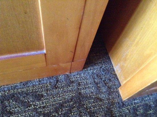 Best Western Plus Abercorn Inn: Needs a deep clean