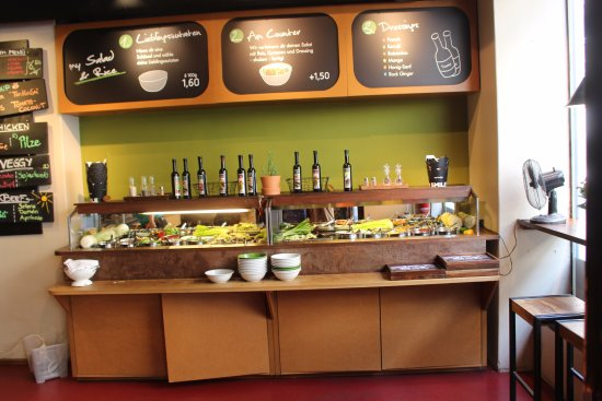Salatbuffet bild von my indigo kongresshaus salzburg for My indigo wien