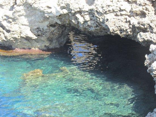 Oasi di Seu: grotte
