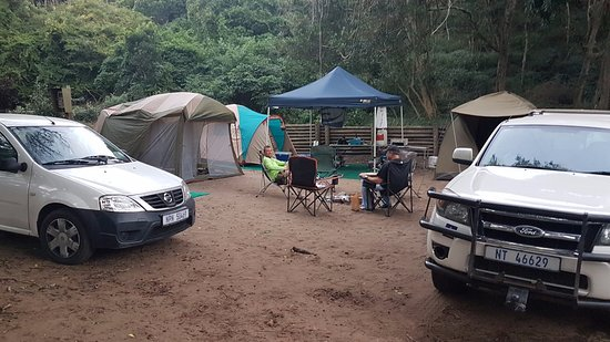 Cape Vidal Camp: camp site