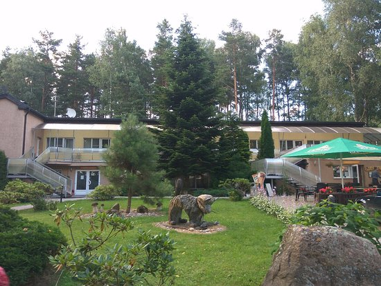 Lilaste, Łotwa: территория отеля