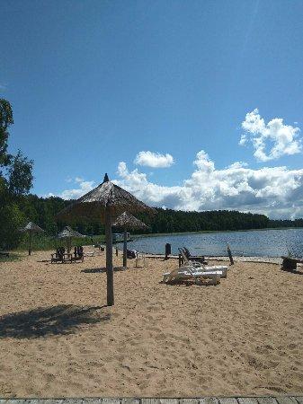 Lilaste, Łotwa: пляж