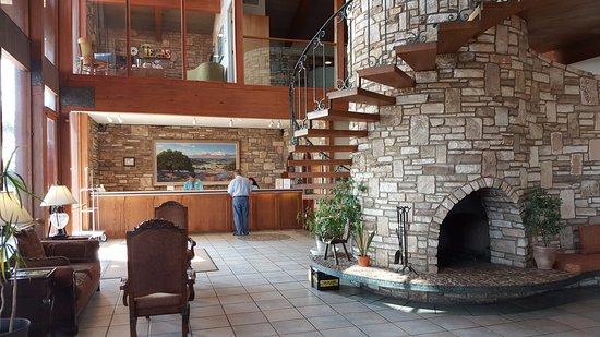 Kerrville, تكساس: Hotel lobby