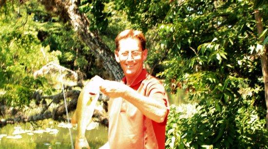 Kerrville, تكساس: Fishing just outside of Kerrville.