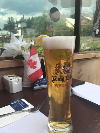 Kimberley, Kanada: A tall cold one on a hot summer day