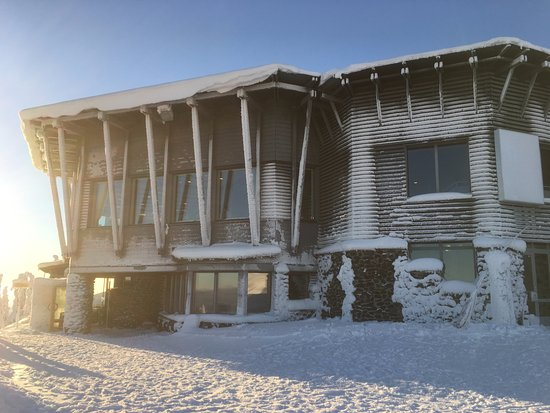 Hotel Iso-Syote: Sunshine and -15 degrees!