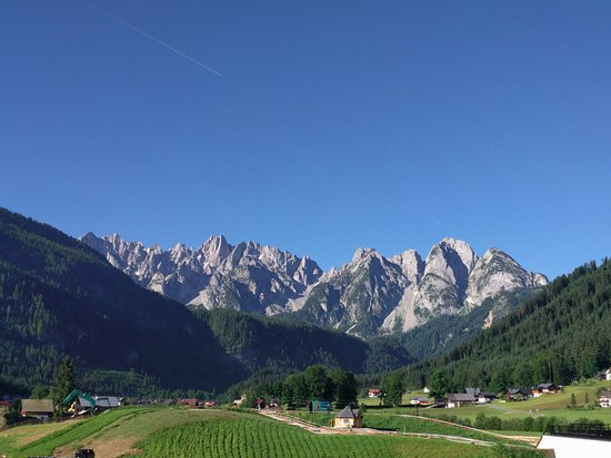 Gosau, Austria: View from chalet 12